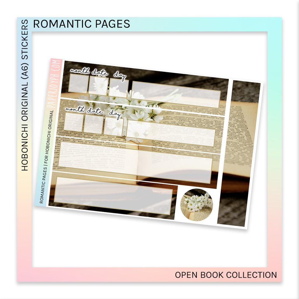 HOBONICHI ORIGINAL (A6) | Romantic Pages