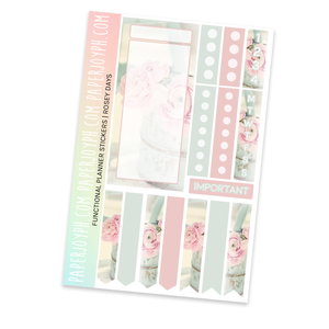 FUNCTIONAL STICKER KITS | Rosey Days