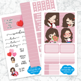 Personal Planner Horizontal Sticker Kit | S2PID LOVE