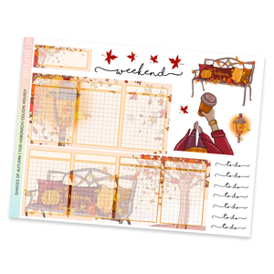 HOBONICHI COUSIN | HOURLY STICKER KIT | SHADES OF AUTUMN