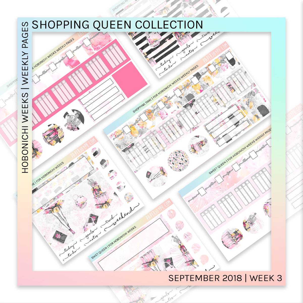 HOBONICHI WEEKS | WEEKLY PAGES | Shopping is Life