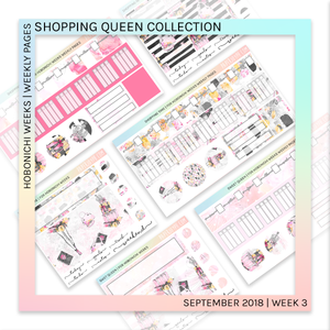 HOBONICHI WEEKS | WEEKLY PAGES | Sweet Queen
