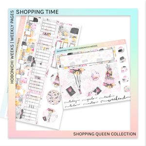 HOBONICHI WEEKS | WEEKLY PAGES | Shopping Time