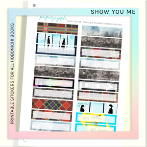PRINTABLE | HOBONICHI WEEKS | SHOW YOU ME