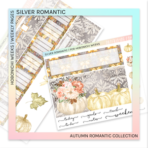HOBONICHI WEEKS | WEEKLY PAGES | Silver Romantic