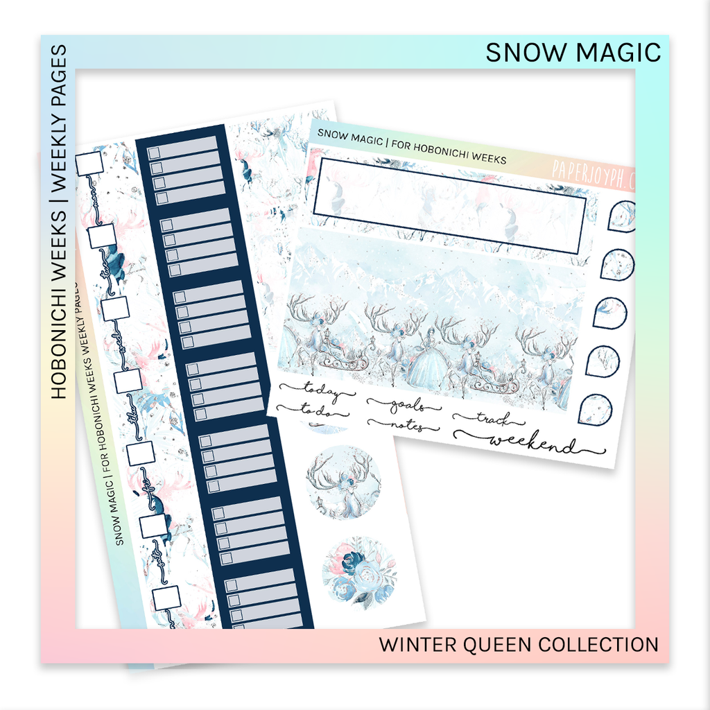 HOBONICHI WEEKS | WEEKLY PAGES | Snow Magic