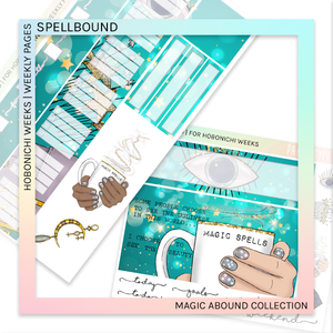 HOBONICHI WEEKS | WEEKLY PAGES | SPELLBOUND