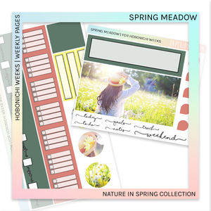 HOBONICHI WEEKS | WEEKLY PAGES | Spring Meadow