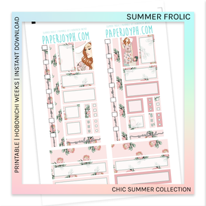 PRINTABLE | HOBONICHI WEEKS | Summer Frolic