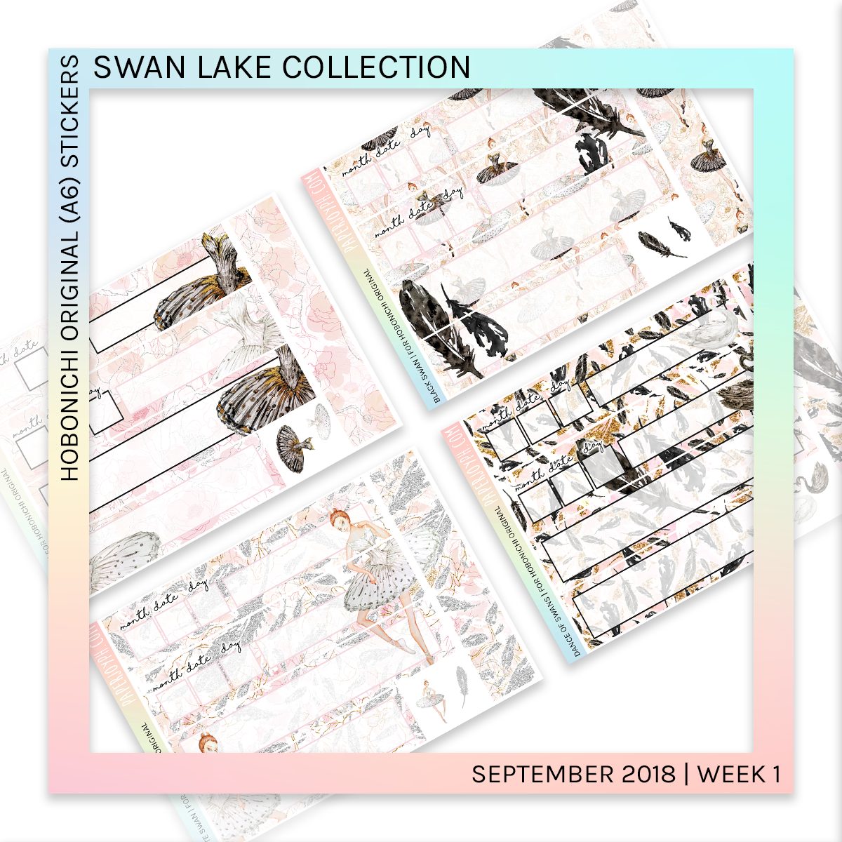HOBONICHI ORIGINAL (A6) | Dance of Swans