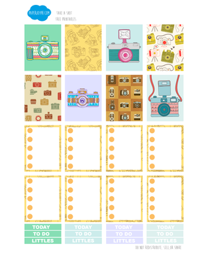 FREE PRINTABLES | TAKE A SHOT PAGE 1