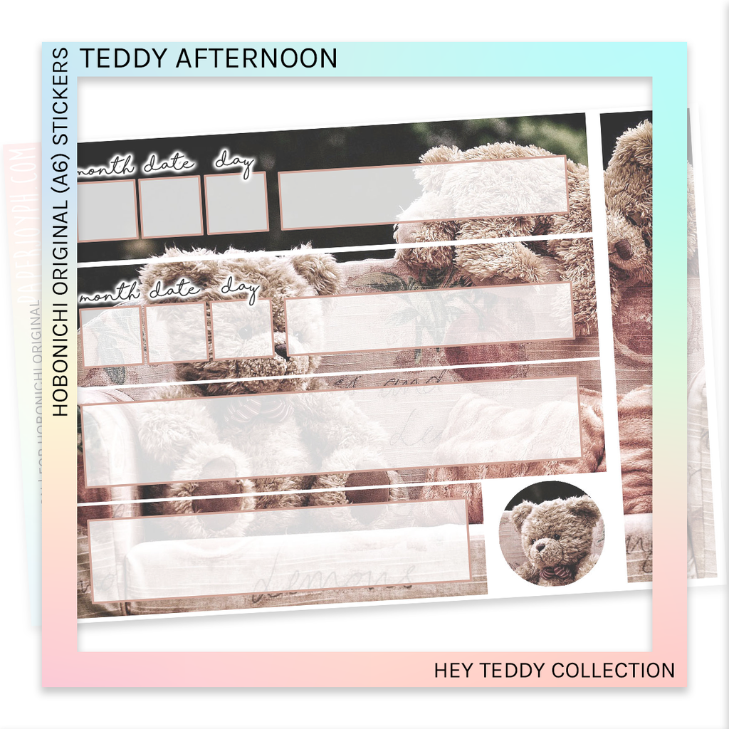 HOBONICHI ORIGINAL (A6) | Teddy Afternoon