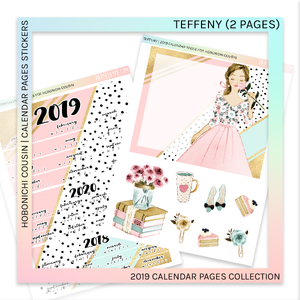 HOBONICHI COUSIN | CALENDAR PAGES | Teffeny
