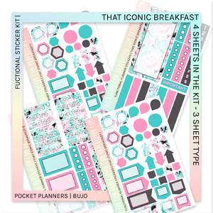 FUNCTIONAL STICKER KITS | That Iconic Breakfast