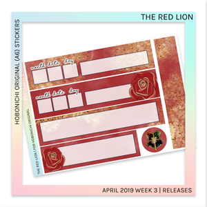 HOBONICHI ORIGINAL (A6) |  The Red Lion