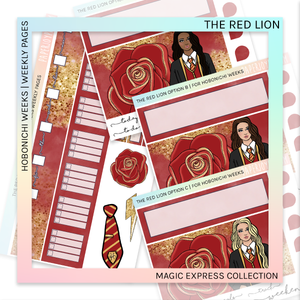 HOBONICHI WEEKS | WEEKLY PAGES | The Red Lion
