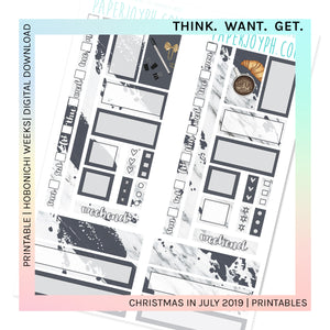 PRINTABLE | HOBONICHI WEEKS | THINK. WANT. GET.
