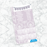 Personal Planner Vertical Sticker Kit | Time Away