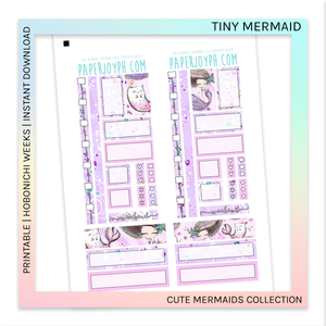 PRINTABLE | HOBONICHI WEEKS | Tiny Mermaid