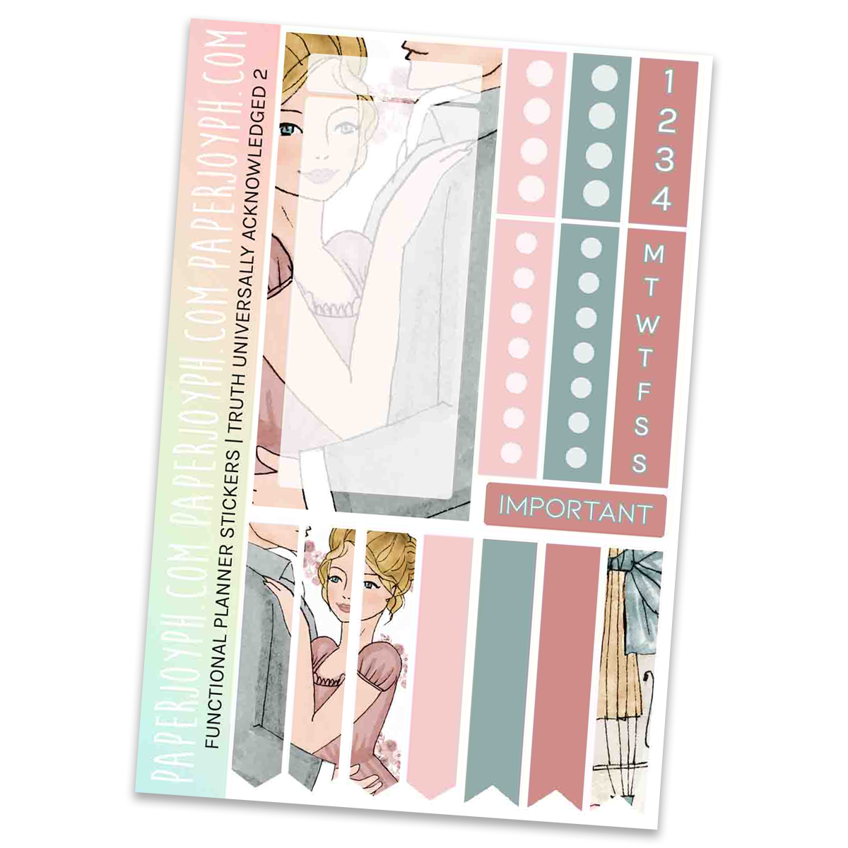 FUNCTIONAL STICKER KITS | Truth Universally Acknowledged