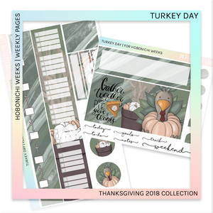 HOBONICHI WEEKS | WEEKLY PAGES | Turkey Day