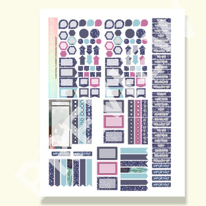 PRINTABLE | FUNCTIONAL STICKER KITS | Twilight