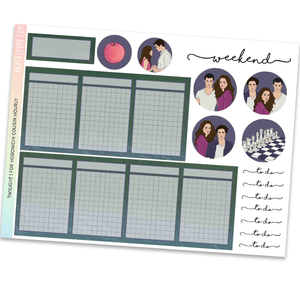 HOBONICHI COUSIN | HOURLY STICKER KIT | Twilight