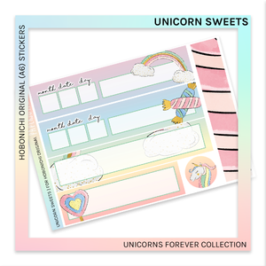 HOBONICHI ORIGINAL (A6) | Unicorn Sweets
