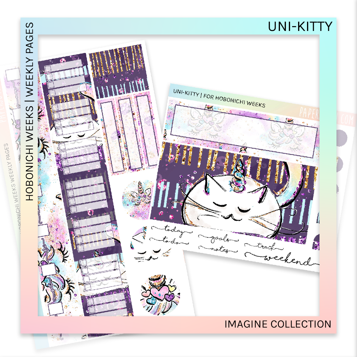HOBONICHI WEEKS | WEEKLY PAGES | Unikitty