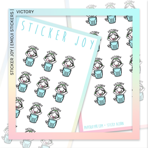 STICKER JOY | Victory