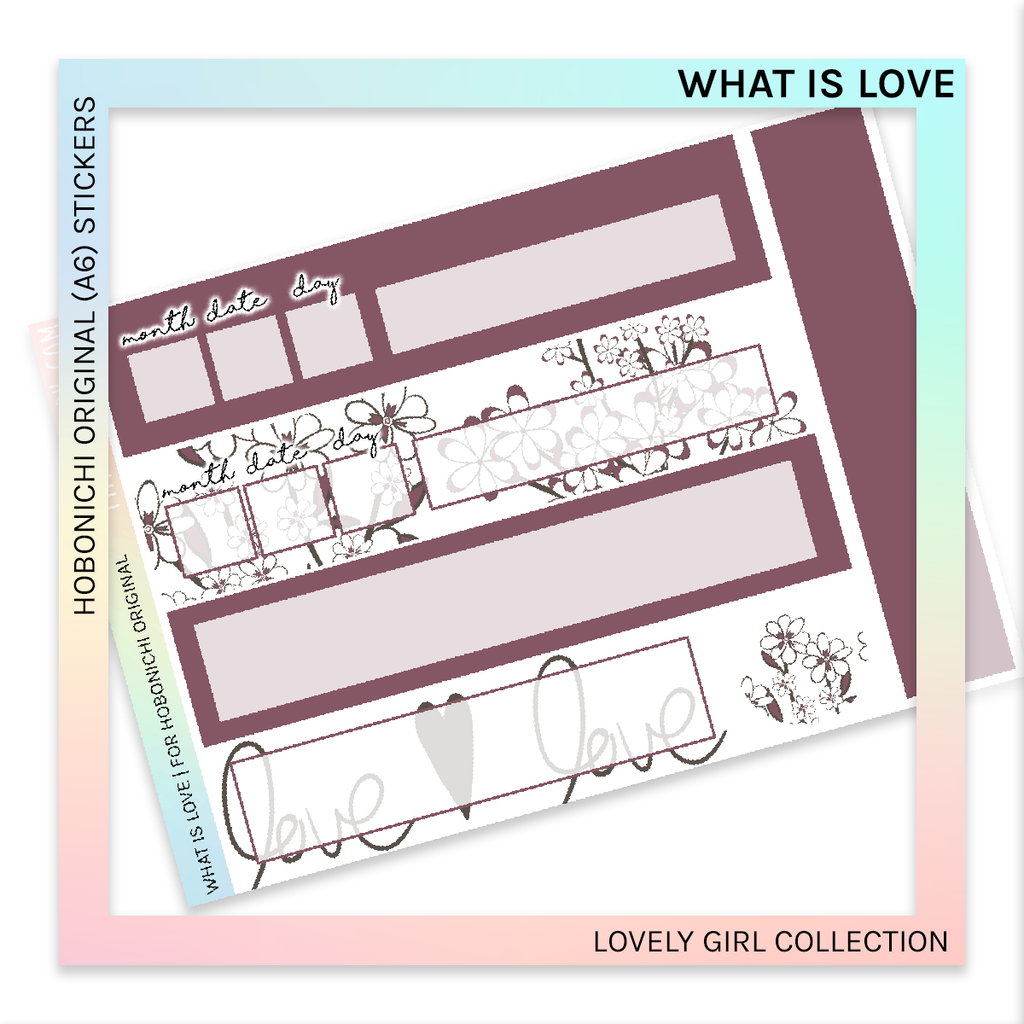 HOBONICHI ORIGINAL (A6) | What is Love