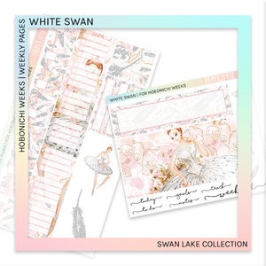 HOBONICHI WEEKS | WEEKLY PAGES | White Swan