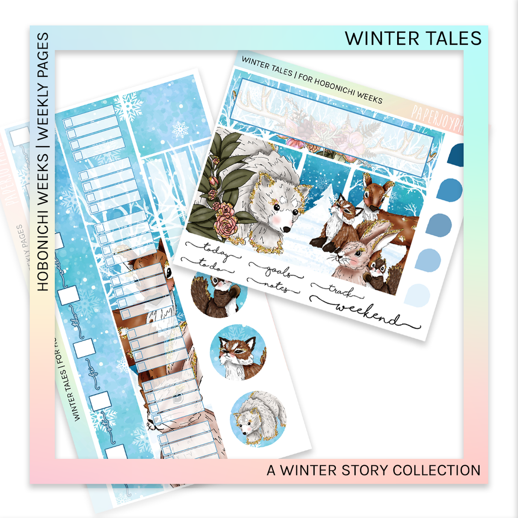 HOBONICHI WEEKS | WEEKLY PAGES | Winter Tales