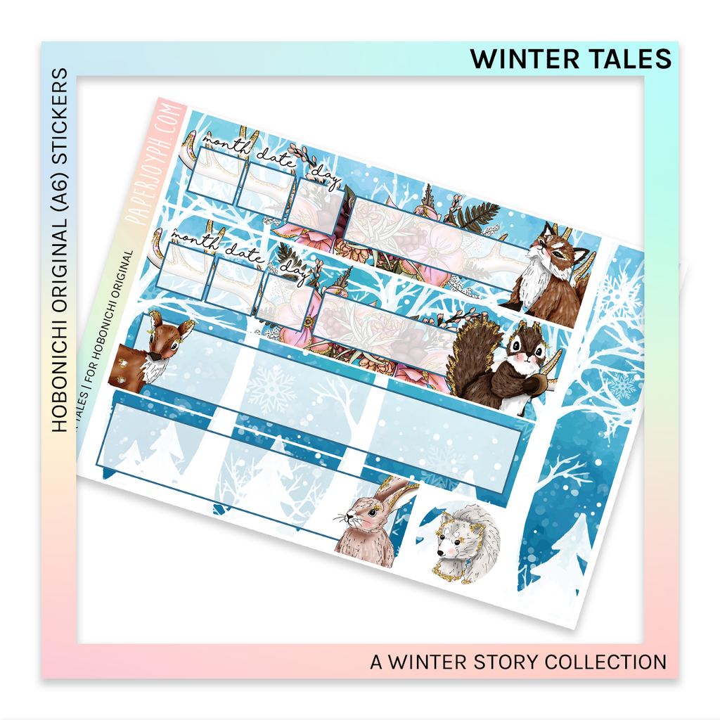 HOBONICHI ORIGINAL (A6) | Winter Tales