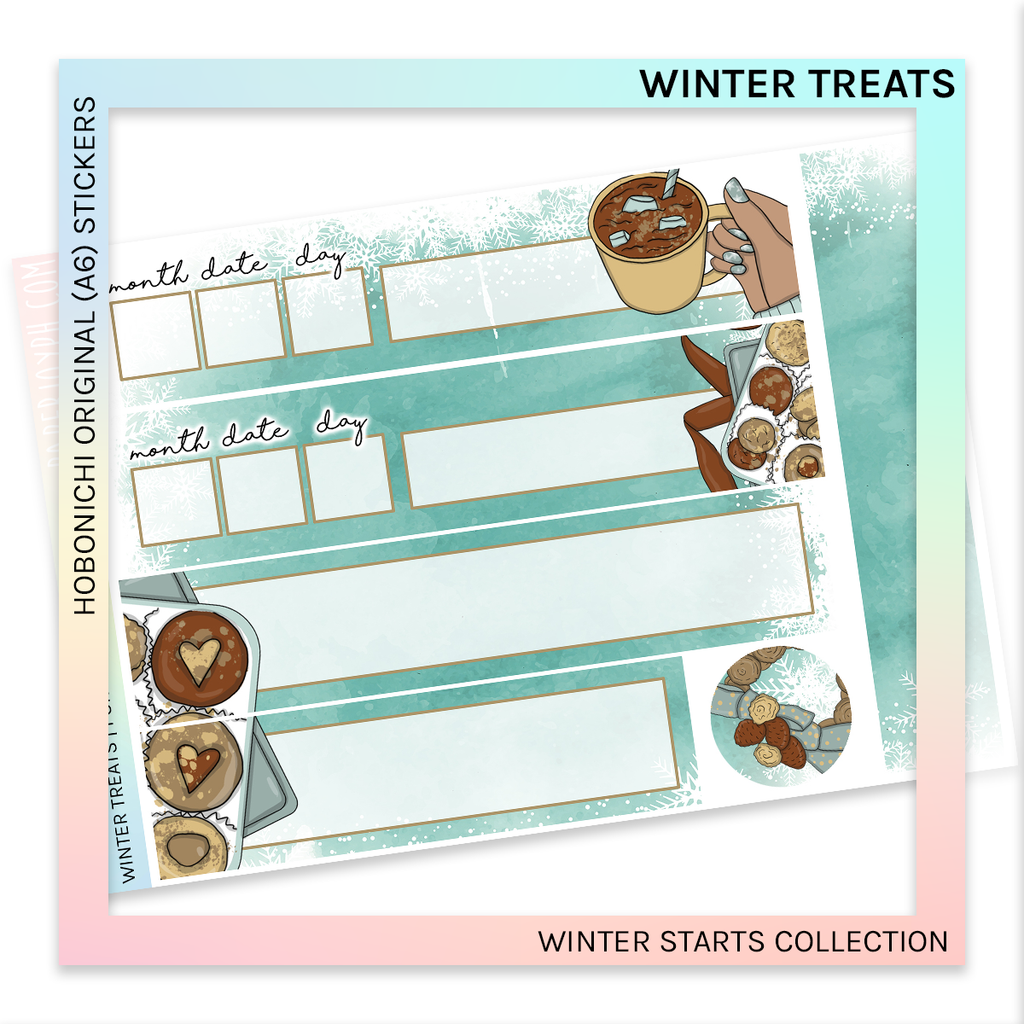 HOBONICHI ORIGINAL (A6) | Winter Treats