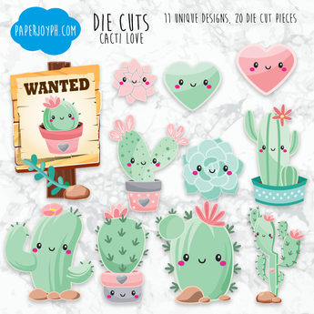 Die Cuts | CACTI LOVE