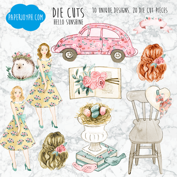 Die Cuts | HELLO SUNSHINE