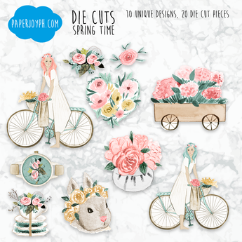 Die Cuts | SPRING TIME