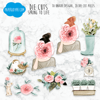 Die Cuts | SPRING TO LIFE