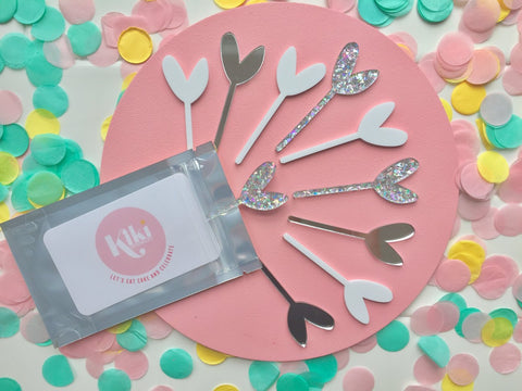 HEART MINI TOPPER SET | LUXE SPARKLE + SHINE