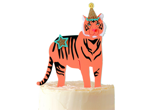 PARTY TIGER CAKE TOPPER