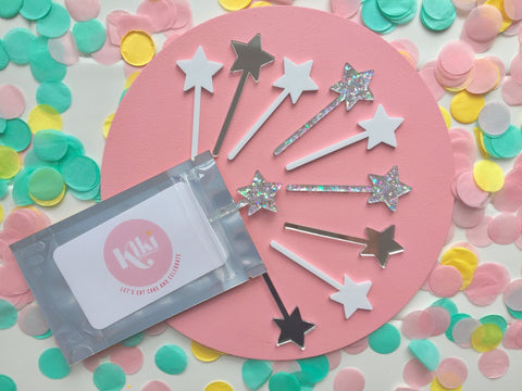 STAR MINI TOPPER SET | LUXE SPARKLE + SHINE