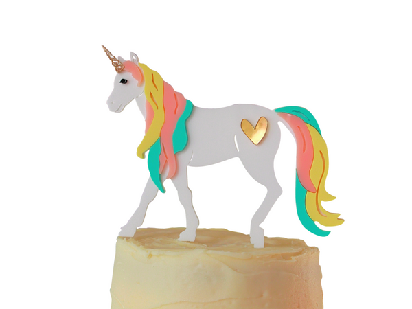 UNICORN DREAM CAKE TOPPER