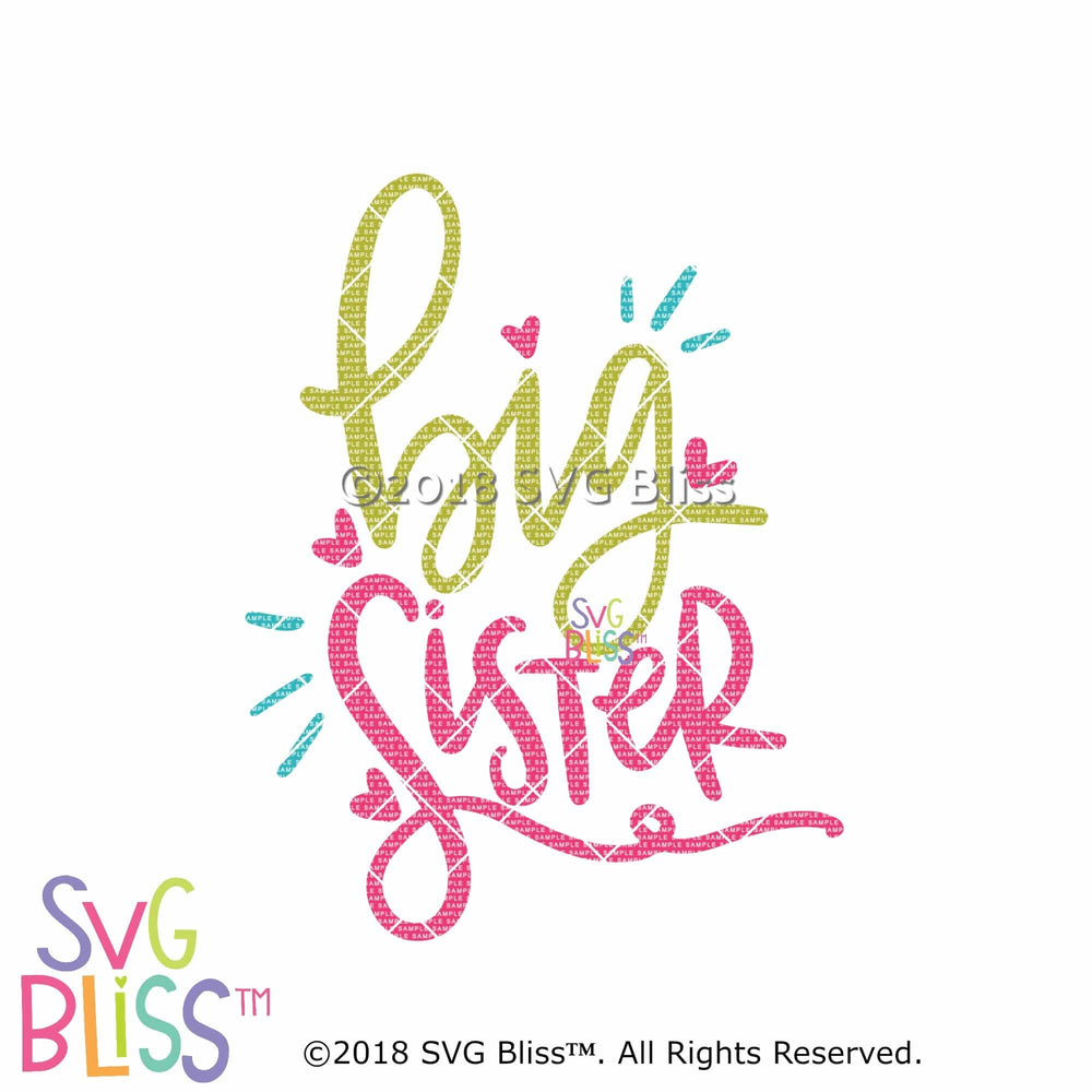 Big Sister SVG DXF