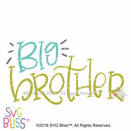 Big Brother SVG DXF - SVG Bliss