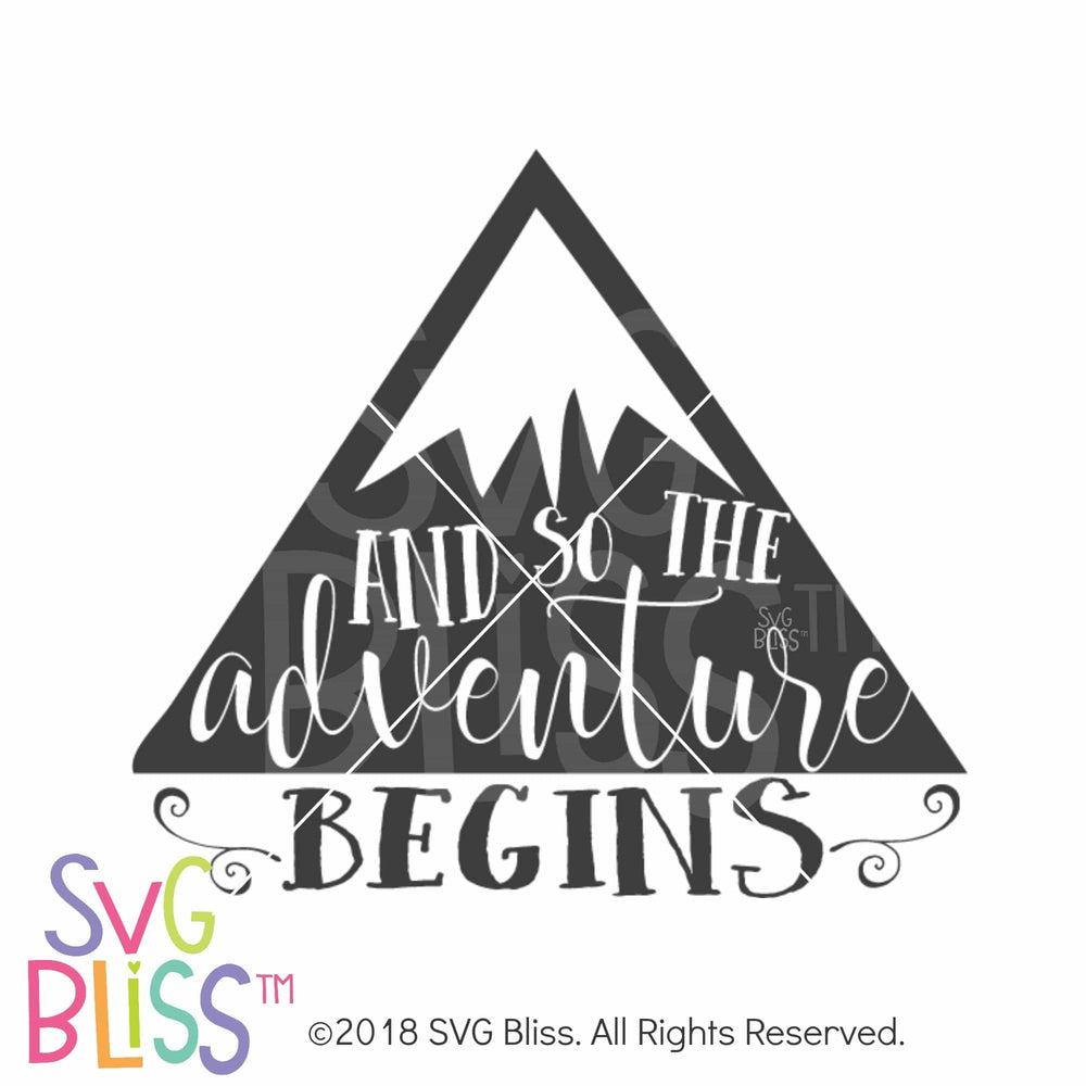 And So The Adventure Begins SVG DXF