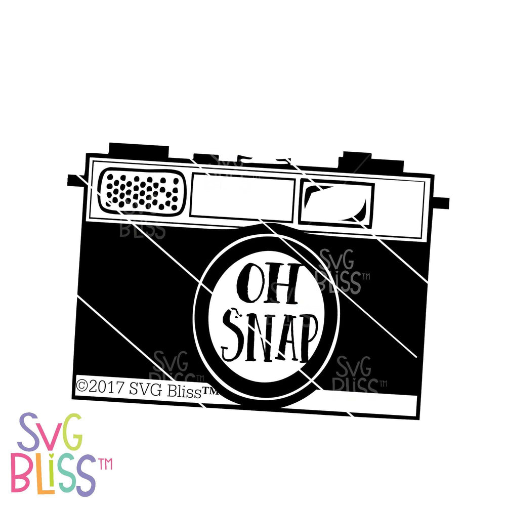Oh Snap! | SVG EPS DXF PNG - SVG Bliss