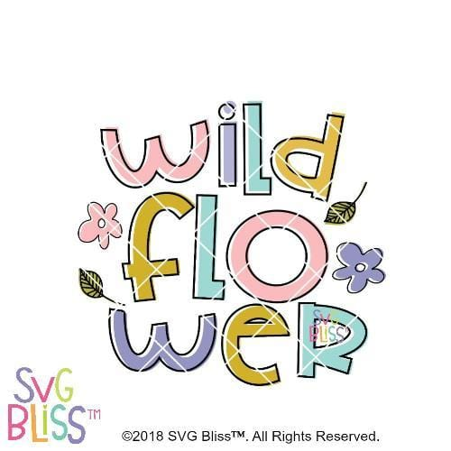 Purchase Wildflower SVG DXF $3.99 ©SVG Bliss™