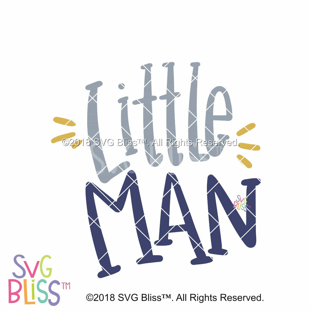 Little Man - SVG Bliss