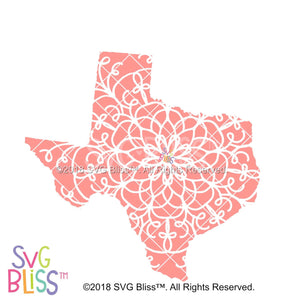 Texas Mandala - SVG Bliss